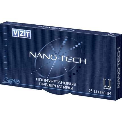 Презервативы VIZIT NANO-TECH полиуретановые 2 шт.