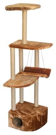 Комплекс для кошек Дарэлл ЧИП Башня угловая с гамаком, в ассортименте, 48 х 48 х 171 см