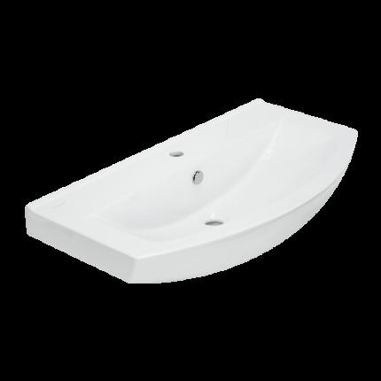 Умывальник мебельный Sanita Luxe Бест 65, белый (SL400202)