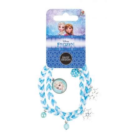Украшение для девочек Daisy Design frozen, плетеный браслет Очаровательные снежинки, 64993
