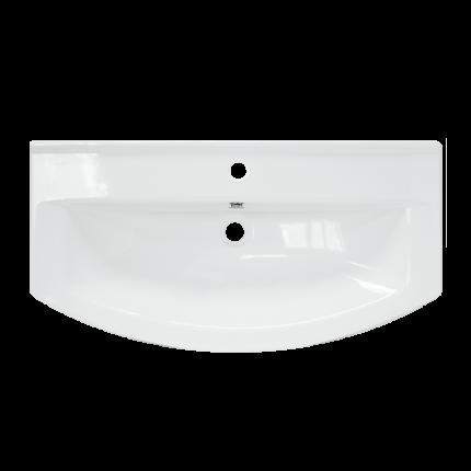 Умывальник мебельный Sanita Luxe Бест 75 , белый (SL400203)