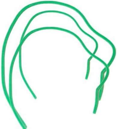 Кембрики резиновые зеленые