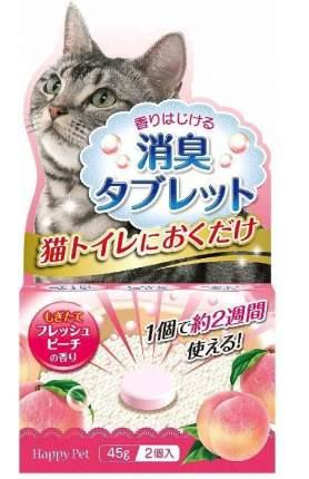 Функциональный уничтожитель сильных запахов Japan Premium Pet с ароматом персика, 2шт