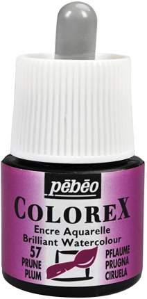 Акварельные чернила PEBEO Colorex , 45 мл, сливовый, арт. 341-057 PEBEO 341-057