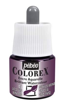 Акварельные чернила PEBEO Colorex , 45 мл, красный винный, арт. 341-065