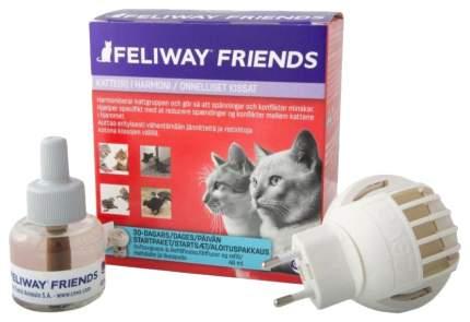 Корректор поведения Feliway Friends CEVA для кошек, диффузор+сменный флакон 48мл