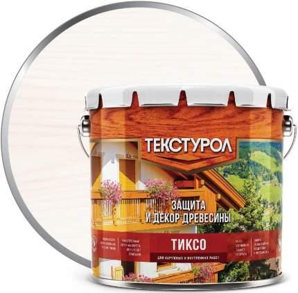Деревозащитное средство Текстурол Тиксо Белый 3 л