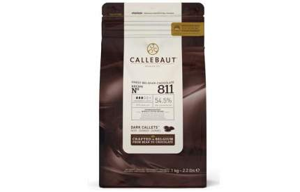 Шоколад темный Callebaut 54.5% какао (811-2B-U73) 1 кг