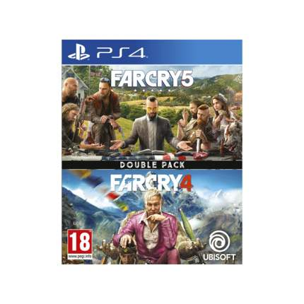 Игра Far Cry 4/5 Double Pack для PlayStation 4