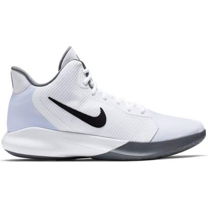 Кроссовки Nike Precision III, white/grey, 13 US