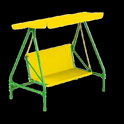 Садовые качели KisPis Leco-IT 250 желтые