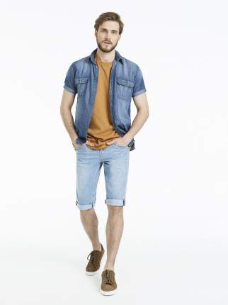 Джинсовые шорты мужские Velocity MSV020 голубые 44/32