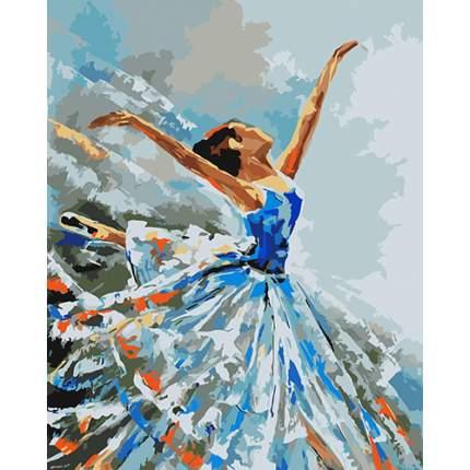 """Набор для рисования по номерам """"Балерина"""", 40x50 см, арт. J001"""