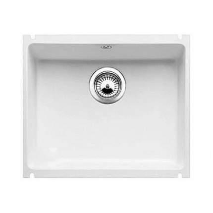 Мойка для кухни керамическая Blanco SUBLINE 500-U 514513 глянцевый белый