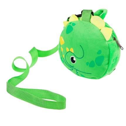 Вожжи/рюкзак «Динозаврик», с поводком, на молнии Крошка Я