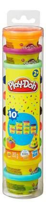 Пластилин play-doh набор для праздника в тубусе 22037