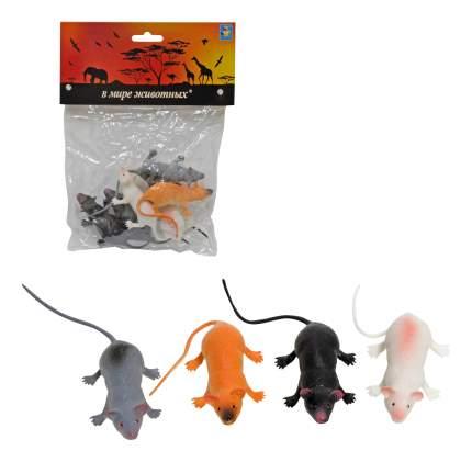 В мире животных крысы 6шт.в пак.с хедером