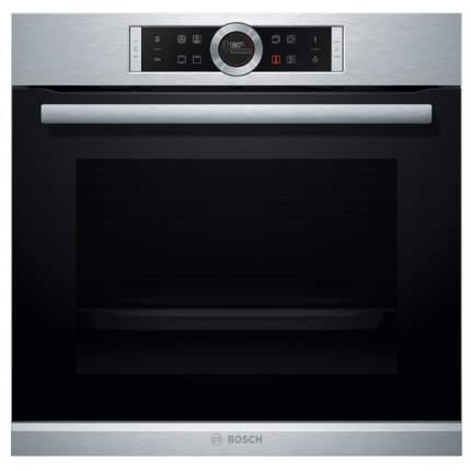 Встраиваемый электрический духовой шкаф Bosch HBG633TS1 Silver/Black