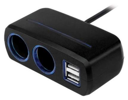 Разветвитель для прикуривателя Neoline SL-221 10A 4 гн. 2 USB 341430