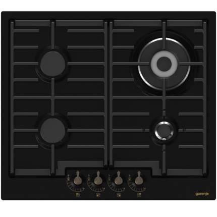 Встраиваемая варочная панель газовая Gorenje GW6N41ZCLB Black