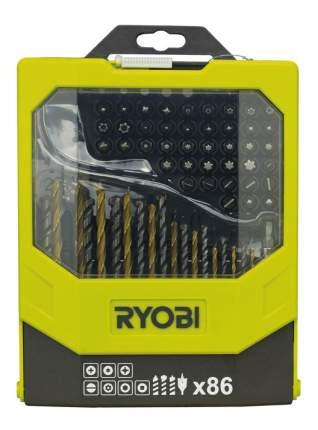 Наборы бит и сверл для дрелей, шуруповертов Ryobi RAK86MIX 86PCS MIXED ACC KIT