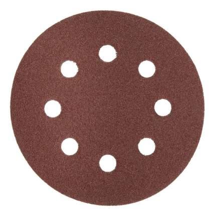 Круг шлифовальный универсальный для эксцентриковых шлифмашин Зубр 35562-125-100