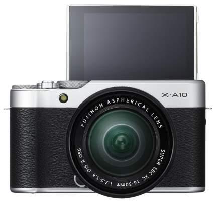 Фотоаппарат системный Fujifilm X-A10 Kit Silver