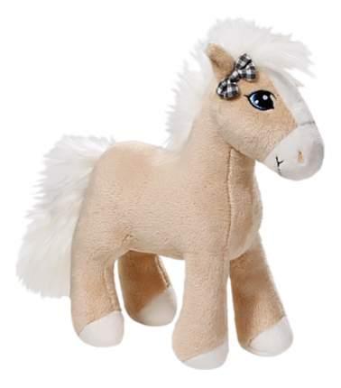 Мягкая игрушка NICI Лошадка Даймонд бежевая, стоячая, 25 см