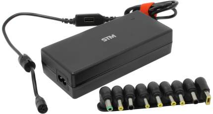 STM Блок питания для ноутбука Storm BLU120 универсальный 19В 2.1А 7 адаптеров черный