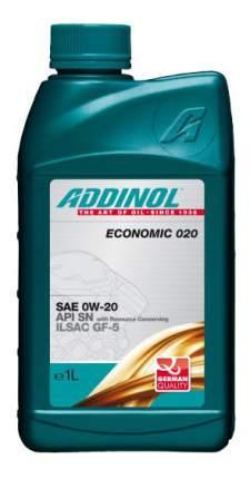 Моторное масло Addinol Economic 020 0W-20 1л