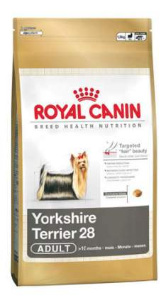 Сухой корм для собак ROYAL CANIN Yorkshire Terrier Adult, птица, 0.5кг