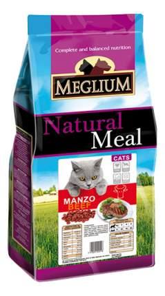 Сухой корм для кошек Meglium Adult, говядина, 1,5кг