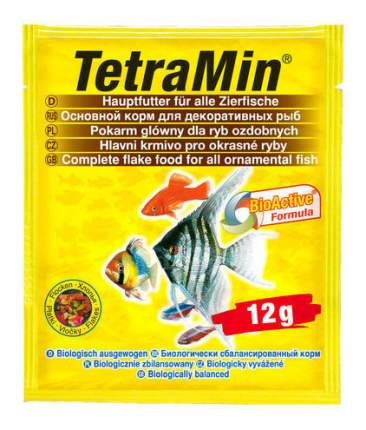Корм для рыб Tetra, хлопья, 12 г, шт