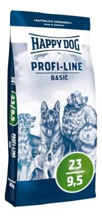 Сухой корм для собак Happy Dog Profi-Line Basic, домашняя птица, 20кг