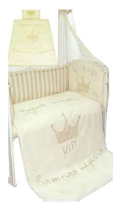 Комплект детского постельного белья Золотой Гусь 1183 бежевый