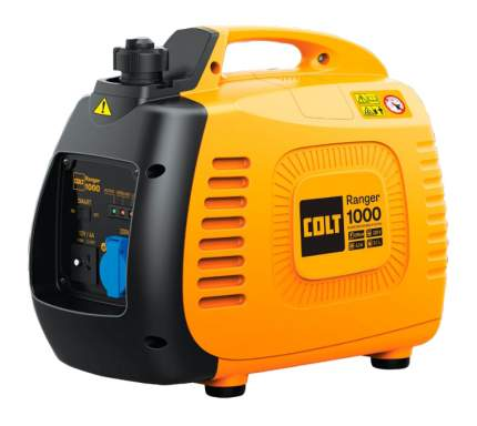 Инверторный генератор Colt Ranger 1000 желтый (499509)