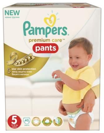 Подгузники-трусики Pampers Premium Care Junior 5 (12-18 кг), 40 шт.