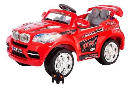 Электромобиль Jetem 2-х моторный красный SWX