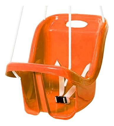 Качели детские Пластик Малютка оранжевые