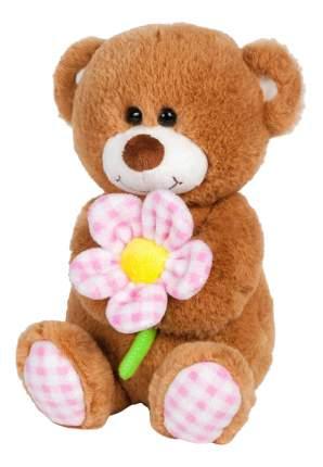 Мягкая игрушка Maxitoys Мишка с Ромашкой, озвученный, 20 см