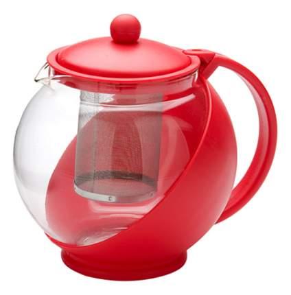 Заварочный чайник MAYER & BOCH 1,25 л красный