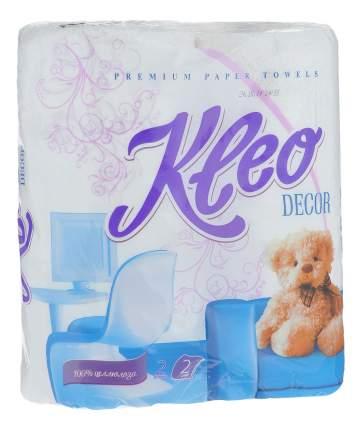 Бумажные полотенца Kleo decor белый