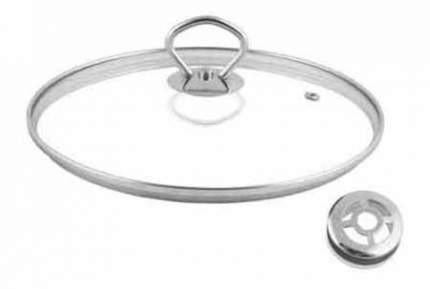 Крышка для посуды 28 см с металлической кнопкой