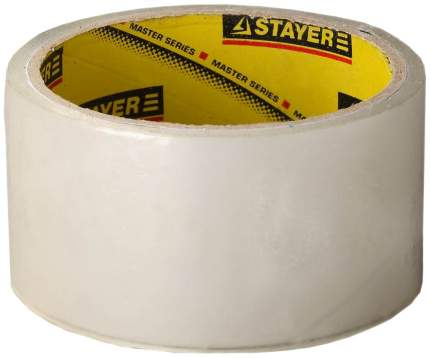 """Клейкая лента Stayer """"MASTER"""", прозрачная, 48мм х 60м"""