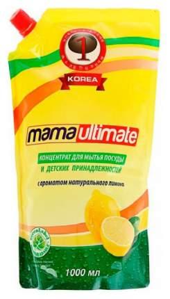 Средство для мытья посуды Mama ultimate лимон 1 л