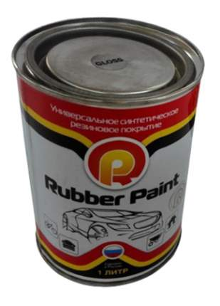 Жидкая резина Rubber Paint чёрная 1 л
