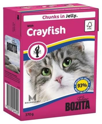 Консервы для кошек BOZITA Feline Chunks In Jelly, с лангустом в желе, 370г