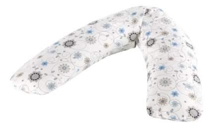 Подушка-трансформер для кормления Theraline Цветы экрю