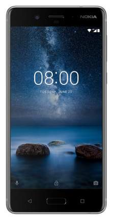 Смартфон Nokia 8 DS TA-1004 64Gb Steel
