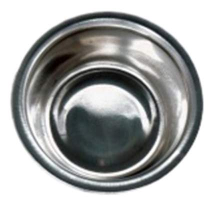 Одинарная миска для кошек и собак Papillon, сталь, серебристый, 0.2 л
